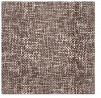 Servietten 33x33 cm - Linen Structure BROWN