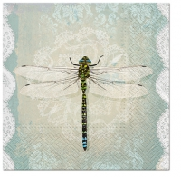 Lunch Servietten Romantic Dragonfly