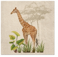 Servietten 33x33 cm - We Care Giraffe