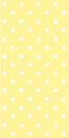 Buffet Servietten Dots yellow