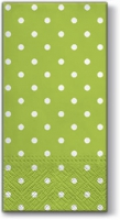 Buffet Servietten Dots green