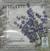 Lunch Servietten Lavender Poem