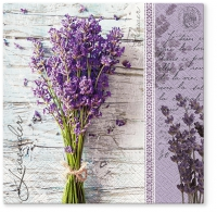Lunch Servietten Lavender Bouquet