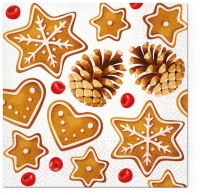 Lunch Servietten Gingerbreads