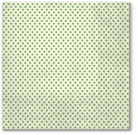 Napkins 33x33 cm - Small Dots (kiwi)