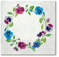 Servietten 33x33 cm - Pancy Wreath