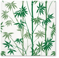 Napkins 33x33 cm - Bamboo Forest green