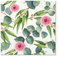 Servietten 33x33 cm - Leaves of Eucalyptus