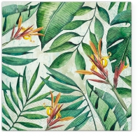 Servietten 33x33 cm - Tropical Garden