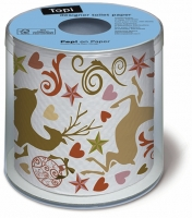 Toilettenpapier Topi Jumping deer gold/copper