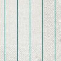 Cocktail Servietten Home white/ aqua