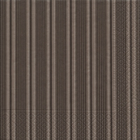 Cocktail Servietten Unique stripes taupe