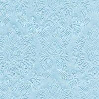 Cocktail Servietten  Ornament pastel blue