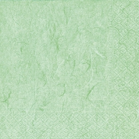 Servietten 24x24 cm - Pure pale green