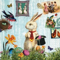 Lunch Servietten Magic Easter rabbit
