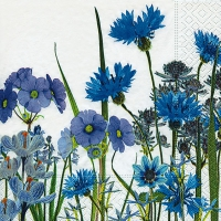 Servietten 33x33 cm - Blue meadow