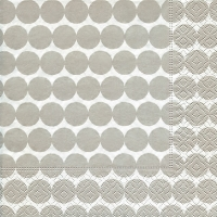 Lunch Servietten Dot pattern grey