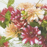 Lunch Servietten Mix of dahlias