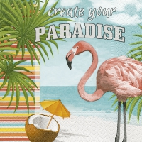 Servietten 33x33 cm - Create your paradise