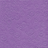 Servietten 33x33 cm - Moments Uni lilac