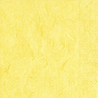 Servietten 33x33 cm - Pure yellow