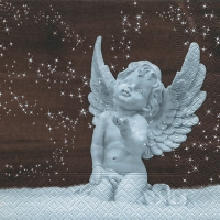 Servietten 25x25 cm - Angel in snow