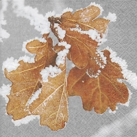 Lunch Servietten Frozen leaves