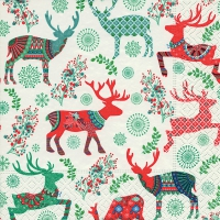 Lunch Servietten Stag pattern