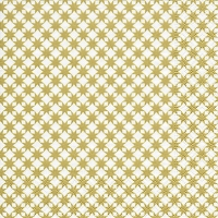 Lunch Servietten Star pattern gold