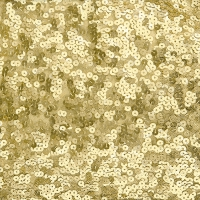 Servietten 33x33 cm - Sequins gold