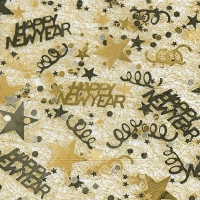 Servietten 33x33 cm - New Year´s eve
