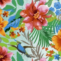 Servietten 25x25 cm - Tropical paradise