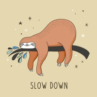 Servietten 33x33 cm - Slow down
