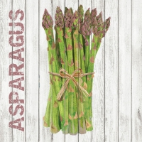 Cocktail Servietten Harvest Asparagus