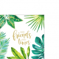 Servietten 25x25 cm - Jungle Good Friends