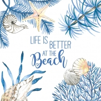 Napkins 25x25 cm - Ocean Life is better