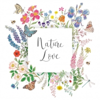 Napkins 25x25 cm - Nature Love