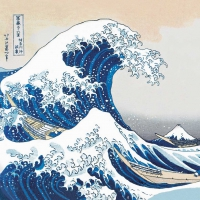 Servietten 25x25 cm - The Great Wave