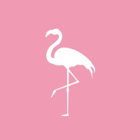 Lunch Servietten Pink Flamingo