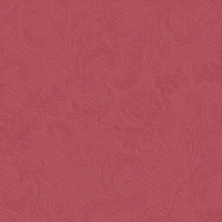 Lunch Servietten Lace embossed bordeaux