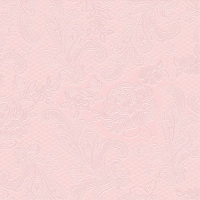 Lunch Servietten Lace embossed femme rose