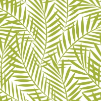 Servietten 33x33 cm - Palm Leaves greenery