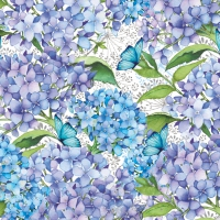 Lunch Servietten Blue Floral