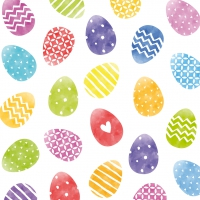 Servietten 33x33 cm - Colorful Easter