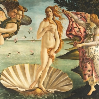 Servietten 33x33 cm - Birth of Venus