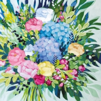 Servietten 33x33 cm - Royal Bouquet