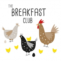 Napkins 33x33 cm - Breakfast Club