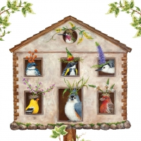 Servietten 33x33 cm - House Party