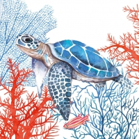Servietten 33x33 cm - The Turtle