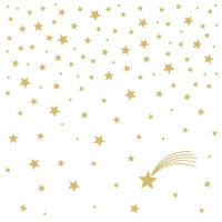 Servietten 25x25 cm - Shooting Star